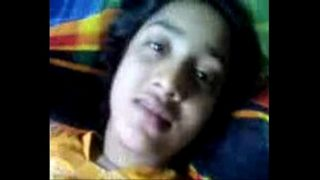 Bangla Clg Girl Home Alone