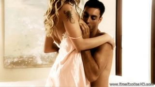 Blonde Lady Feel the Intense of Anal Sex With Hindu Boy Friend
