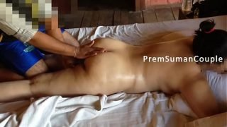 Desi wife Suman getting nude massage hubby filming [Part 2]