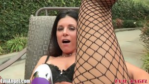 EvilAngel Hot MILF India Summer Lesbian Anal