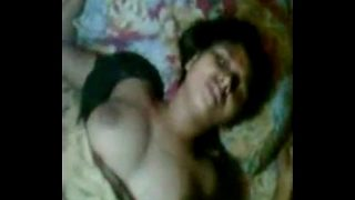 Indian couples in night sex romance with music and sound