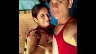 real bhabhi get her boobs sucked by devar in front of her own s.
