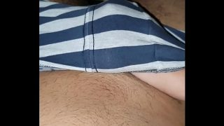 Wife shaking penis horny wife plays with cock